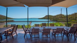 View from the dining room-Kuri Bay