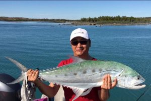 Big Queenie Fish caught on Kuri Bay Sportfishing Tours