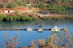 Jetty at Kuri Bay