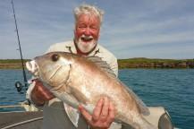Blue Bastard Fish caught on Kuri Bay Sportfishing Tours