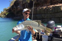 Barramundi Fish caught on Kuri Bay Sportfishing Tours